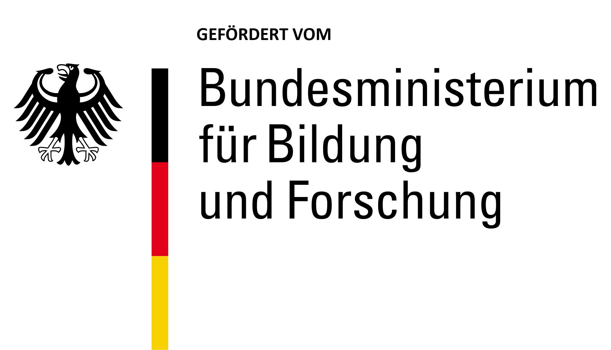 Logo gefördert vom BMBF